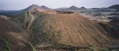 An extinct volcano next to the Sisters Peak- Ascension Island