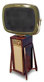 Predicta Danish Modern - another new tv in a retro style. Hey baby, you're coming home with me.