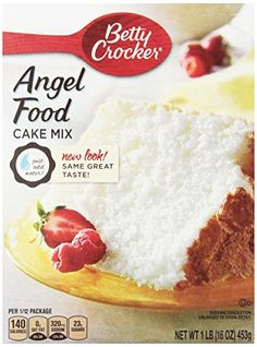How To Make Dry Angel Food Cake Mix