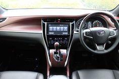 TOYOTA 新型ハリアーのインテリア。 ボルドーの内装色が高級感がありお洒落です! http://bloooger.jp/harrier_interior/ #ハリアー #自動車 #SUV