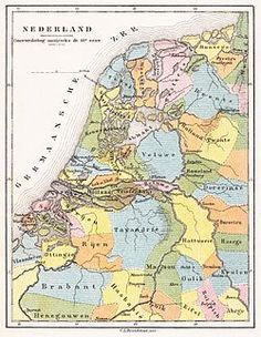 century - The districts of the Low Countries Early World Maps, Holland Map, Classical Antiquity, Historical Maps, Old Maps, European History, Netherlands, Vintage World Maps, Languages