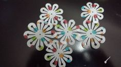 24 Assorted Spring Polka Dot Edible Flowers by ohSEWcuddly on Etsy