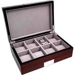 Bey-Berk Walnut Wood Watch Case
