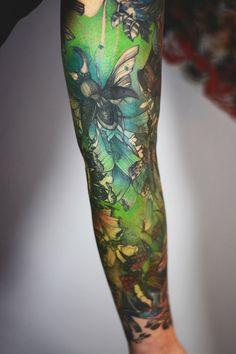 Joanna Swirska Dzo Lama tattoo