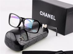 chanel bow eye glasses