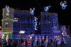 christmas lights in hollywood movies and tv movies | Christmas Lights at Disney's Hollywood Studios