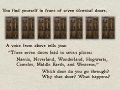 Which of 7 doors?