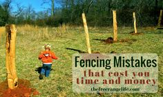 Fencing is a big job. Are you making any of these 6 Fencing Mistakes? If you are you could be costing yourself a lot of time and money!