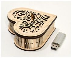Wooden small box. Wedding USB case Wedding USB box Wedding