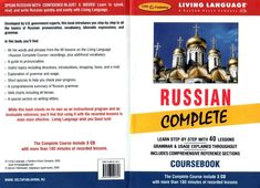 Russian Complete CourseBook (free download, pdf, mp3)