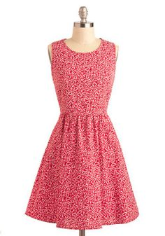 Mint Tradition Dress, Peppermint Swirl Print from modcloth.com - $79.99