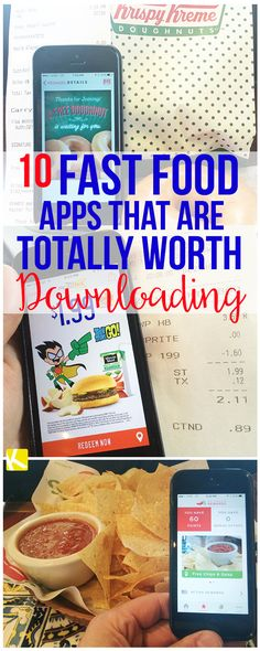 10 Fast Food Apps That Are Totally Worth Downloading