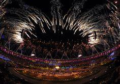 De opening van de Olympische Spelen Londen 2012