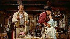 "John Wayne, Jeffrey Hunter, Vera Miles, Ward Bond, ""The Searchers"" Western Film, Western Movies, Cinema Film, Cinema Posters, Martin Scorsese, Stanley Kubrick, John Wayne, Hollywood Men, Classic Hollywood"