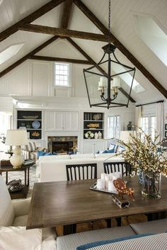 Coastal Elegance House Tour - LOVE the board and batten!