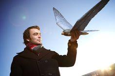 Flying robo-hawks designed to terrorise real birds (Wired UK)