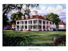 Georgia Southern Plantations   ... of the Stately Southern Plantation homes surrounding New Orleans