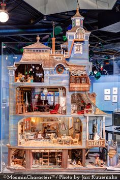 The official Moomin museum in Tampere hosts thousands of Moomin related objects, ranging from artwork by Tove Jansson to Moomin figures created by Tuulikki Pietilä.