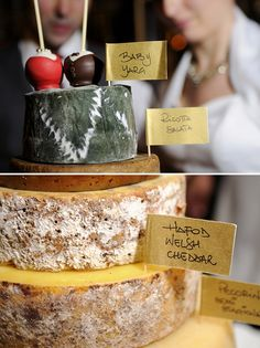 cheese wedding cake, image by Samantha Capitano
