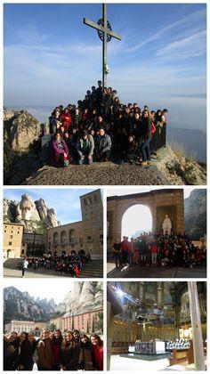 Visita al monestir, santuari i muntanya de Montserrat. Àmbit Religió. 2n d'ESO.