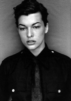 Milla Jovovich por Michael Thompson