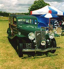 1935 Jensen-Ford