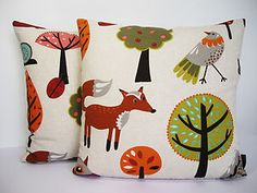 Woodland Pillows