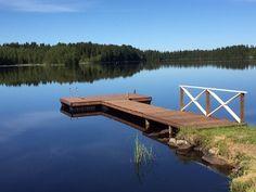 Such beauty laituri Nature Houses, House In Nature, Building A Dock, Floating Dock, Good Neighbor, Boat Dock, Garden Bridge, Finland, Decks