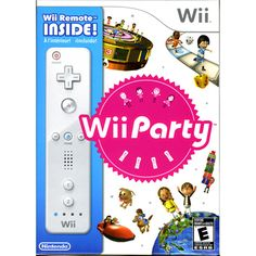 Wii Party - Remote Included (Nintendo Wii)    I wanted black remotes. . .but this is a good deal. $29.99
