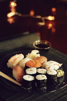 photography food sushi seafood 50mm lens