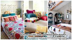 #Decoración_de_interiores #Decoracion #Decoracion_de_interiores Decoración de interiores con detalles bordados: Decoración de interiores…
