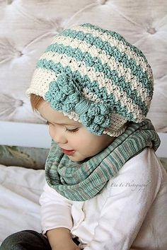 Ravelry: Bella Slouch with Bobble Bow pattern by Crochet by Jennifer