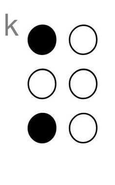 Braille Alphabet Chart For Kids, Pdf's, Flash Cards