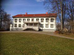 April 2, 2014. Alfred Nobel's house in Karlskoga, Sweden via Pieter Halliday.