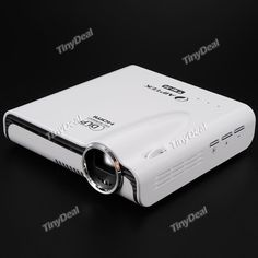 AIPTEK WiFi LED Projector DLP 854 x 480 MHL HDMI WIFI DC Projectors OPJ-383710