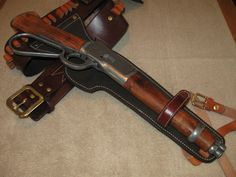 Mare's Leg - This isn't a cut down lever action rifle, they are classified as a pistol because they are assembled as such. There are generally two commercial versions available; one from Rossi called the Ranch Hand and the other from Henry Repeating Rifles called the Mare's Leg. Available calibers range from .22 LR, .38 Special, .45 Colt, .357 Magnum and even .44 Magnum. Keep in mind that these pistols are not legal in all states.