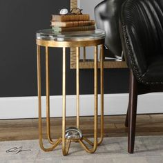 Uttermost - 24776 - Allura - 24.5 inch Accent Table