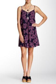 Adrianna Silk Blend Dress