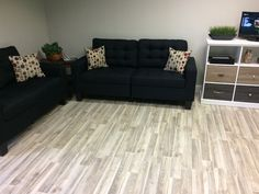 Nordic Ash looks great in this office waiting room!