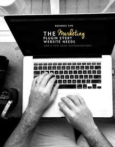 #BusinessTips ~ The #Marketing Plugin Every #Website Needs & a Few Cool Customizations http://83oranges.com/the-marketing-plugin-every-website-needs-a-few-cool-customizations/  #webdev