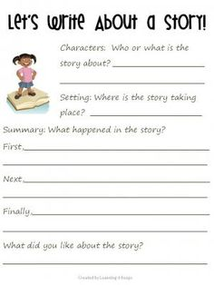 Worksheets Elementary English Worksheets 1000 images about elementary printables worksheets on draw and write a story from learning 4 keeps pages freebie that ask students to key det