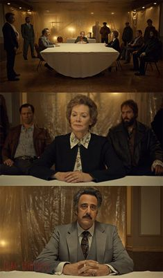 Fargo 'Fear and Trembling' Season 2 , Episode 4 | Note how business-like she looks in comparison to her much more traditionally grandmotherly sweaters and turtlenecks. She's trying very hard to be something she's not. Business-like, refined, and proper. This is a front. An attempt at a legitimacy that Otto never saw the need to bother with. In other words, she essentially put on a tie, which is not the Gerhardt family way.