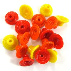 Handmade Lampwork Beads Glass  Lampwork beads set  Mix by gaialai, $18.00