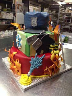 First Responder Cake