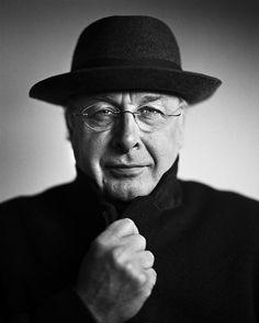 "Martinus ""Mart"" Smeets (1947) - Dutch radio and TV personality, writer, columnist. Photo © Stephan Vanfleteren"