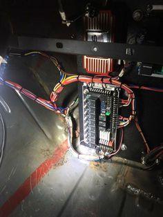 wiring hot rod lights hot rod car and truck tech pinterest rh pinterest com Custom Auto Wiring Kits Custom Auto Wiring Panel