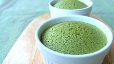 Matcha Cheese Souffle