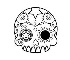 #kawaii #skull