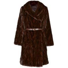 Marc Jacobs Fur Coat ($6,971) via Polyvore