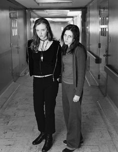Katharine Isabelle as Ginger in Ginger Snaps 2 with Emily Perkins [x] Ginger Snaps Movie, Katharine Isabelle, Movie Covers, Together Forever, Movie Tv, Normcore, Hair Styles, People, Clothes